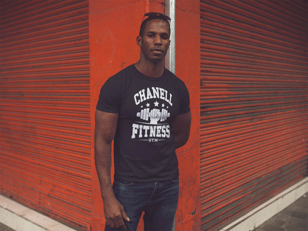 Chanell Fitness Gym T-shirt